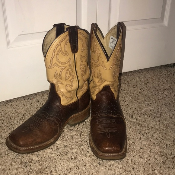 846b88e6f55 Upper leather double H boots- Ariat